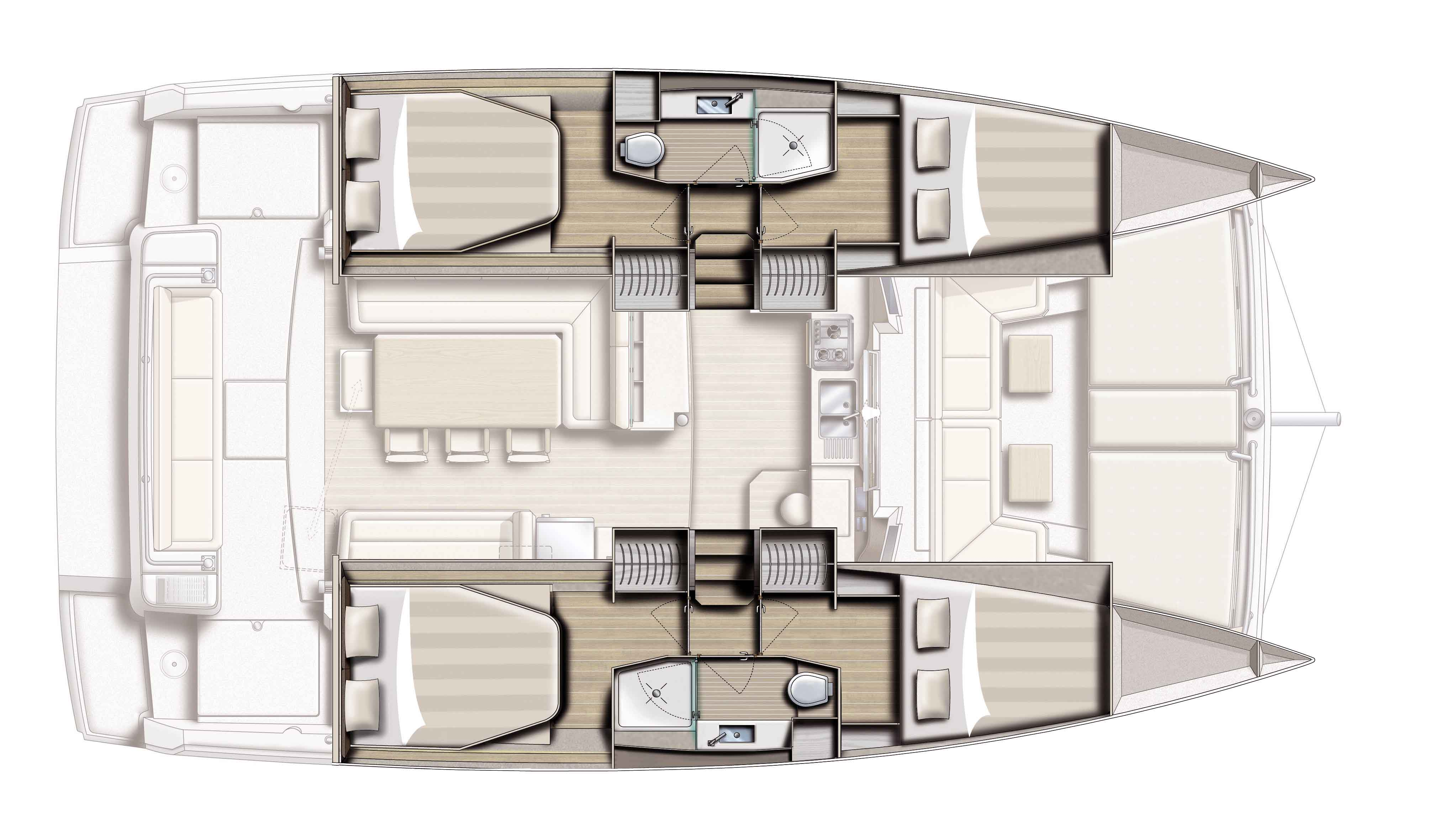 Catamaran BALI 4 1 - pictures, plans and features