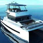 THE MOTOR YACHT HAS ARRIVED AT BALI CATAMARANS
