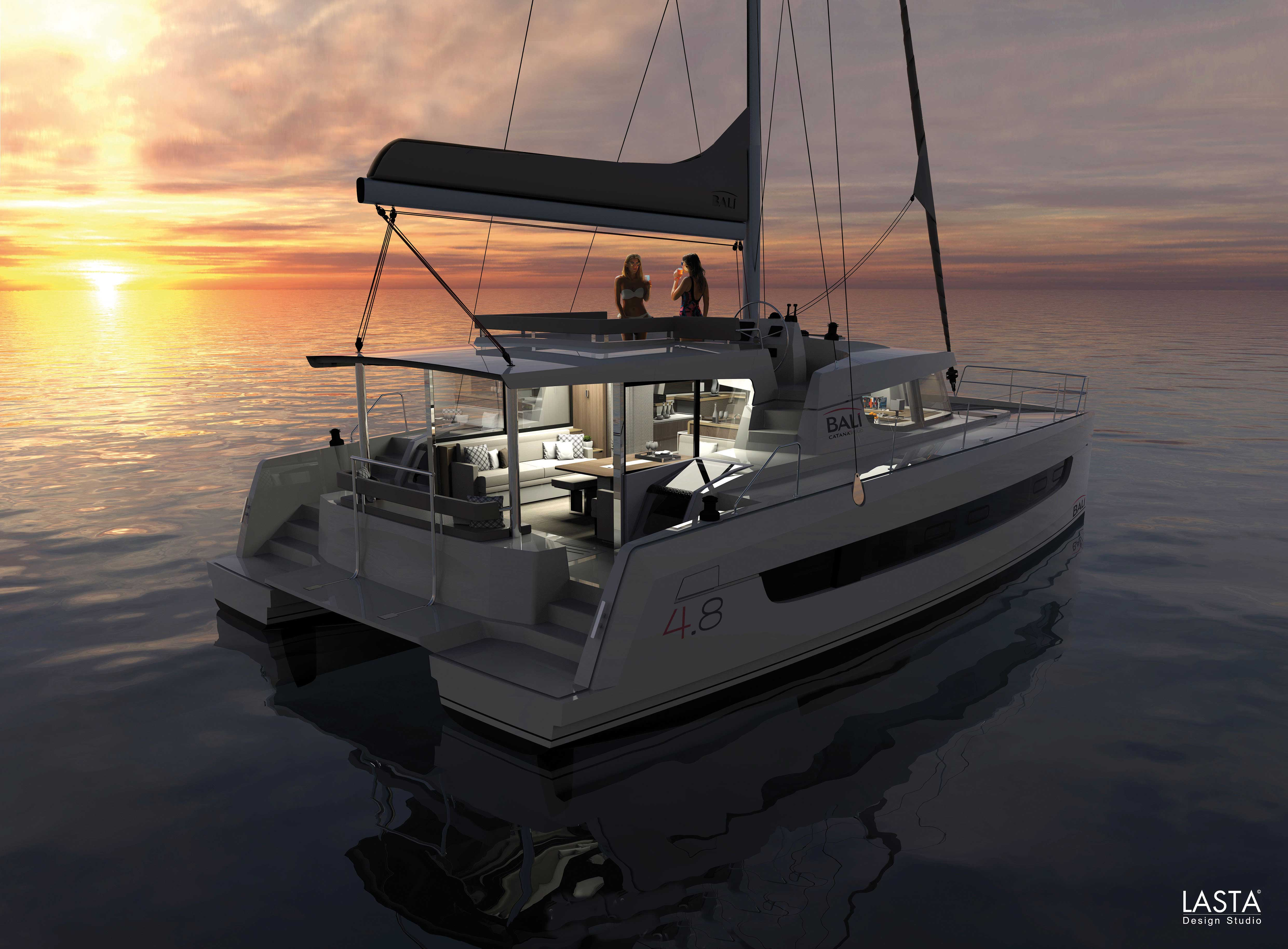 BALI catamarans, pleasure and sensations, break the rules!