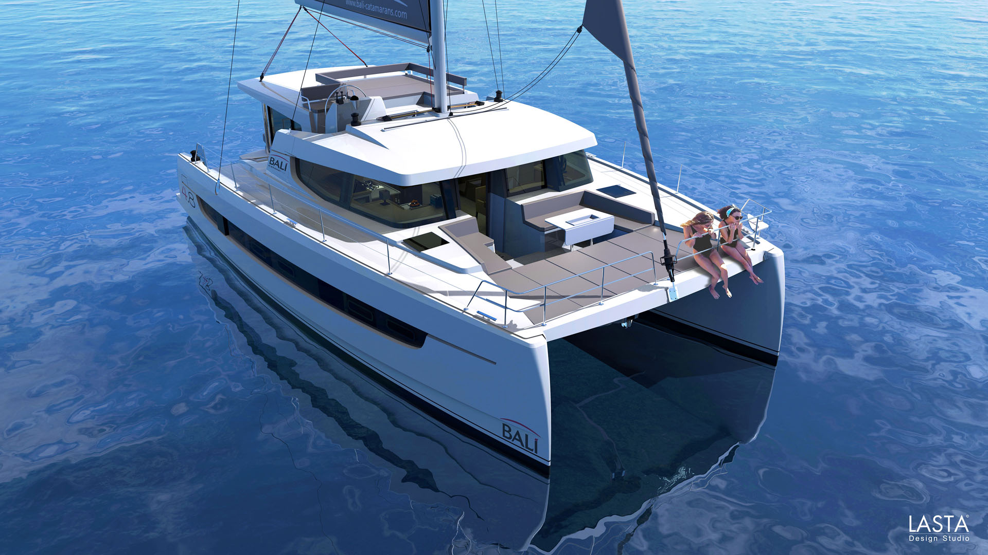Catamaran Bali 4 8 Pictures Plans And Features