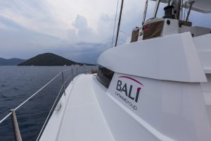 Why are there no deck hatches on BALI CATAMARANS?