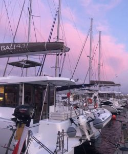 From France to Sardinia 32 days of sailing and 732 nm covered