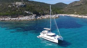 Entre France et Sardaigne, 32 jours de navigation et 732 mn parcourus